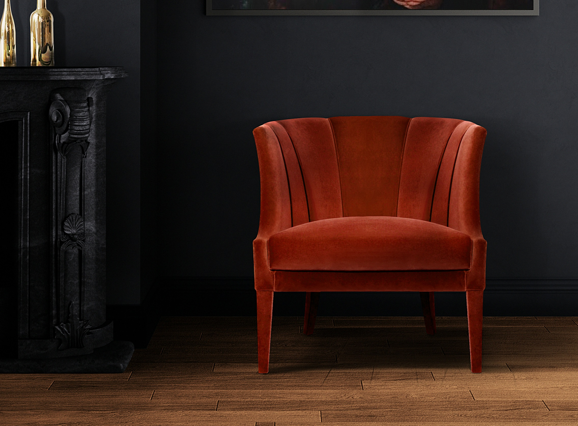 BEGONIA Armchair Ambience by BRABBU